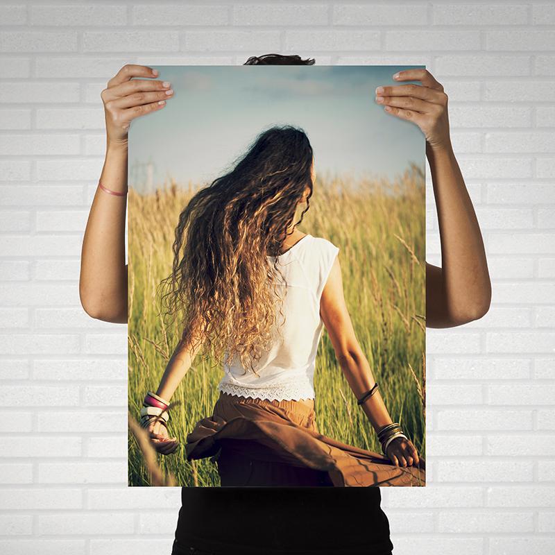 печать постеров на фотобумаге принято считать первой